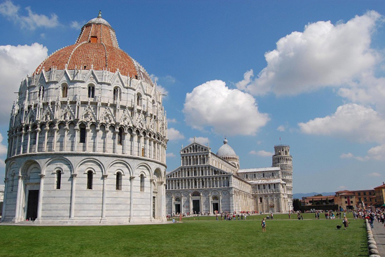 Torre di Pisa – Piazza dei Miracoli